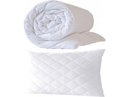 Set - polštář a přikrývka Bílý