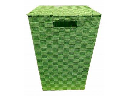 Košík velký 33x33x53 Zelený