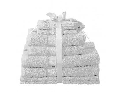 Sada ručníků Kombo jambo bílá