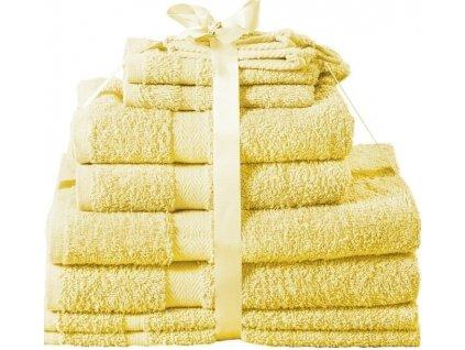 Sada ručníků Kombo jambo žlutá
