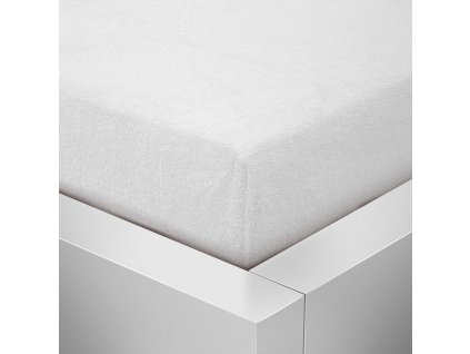 Prostěradlo Froté Top 220x200 cm bílá