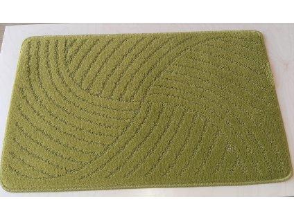 Koupelnová předložka Classic 50x80cm - zelená