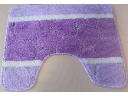 Předložka na WC 40x50cm - fialová lila