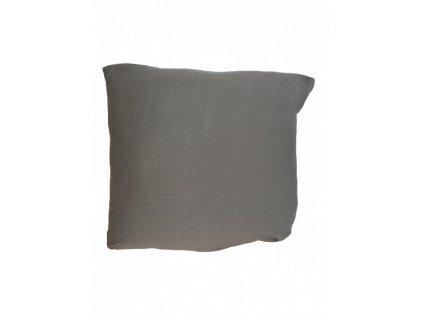 Povlak na polštářek Lycra hnědý 40x40 cm