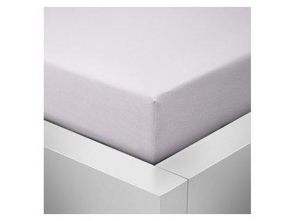 Prostěradlo Jersey Top 220x200 cm bílá