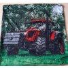 Polštářek Červený traktor