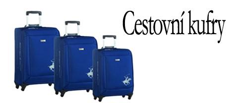 Cestovní kufry pro děti i dospělé