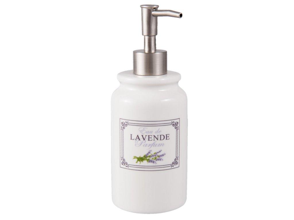 Dávkovač mýdla LAVANDE - Ø 8*20 cm