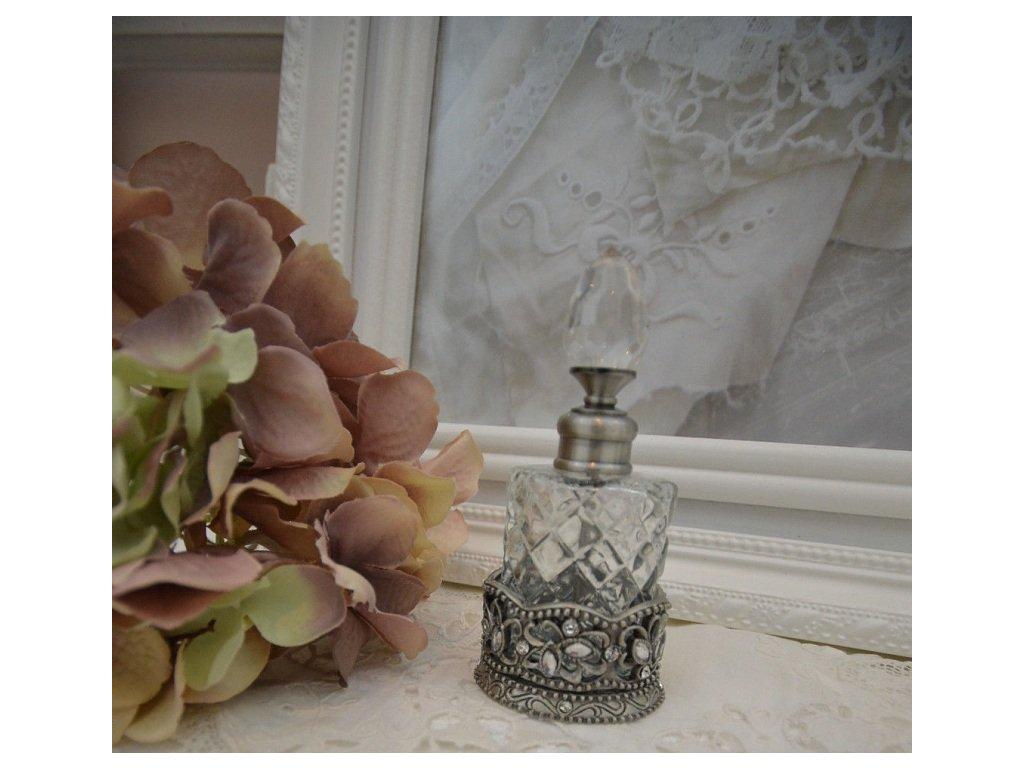 Clayre Eef Flacon Parfum Perlen Strass Shabby (1)