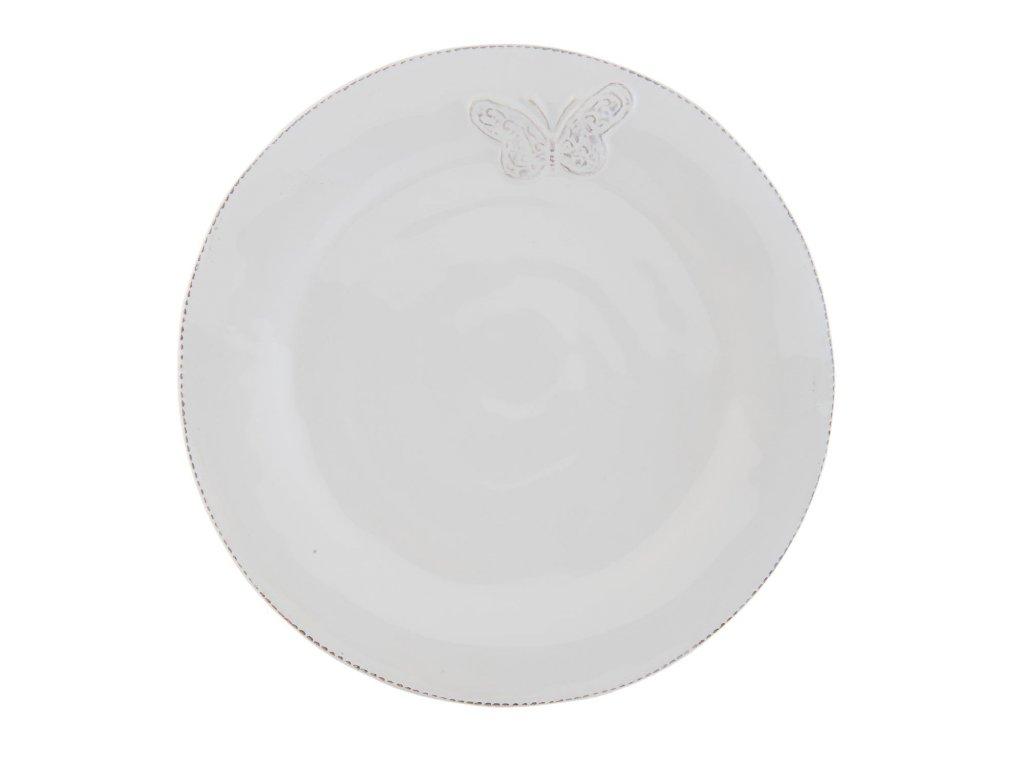 Talíř dezertní  Tableware butterfly pr.20 cm