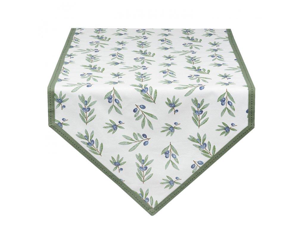 Ubrus Olive Garden - 50*160 cm