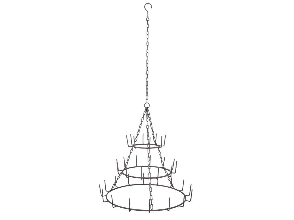 Závěsný kuchyňský držák - Ø 64*135 cm