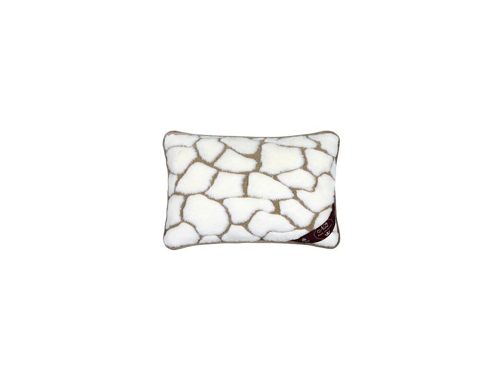 Caschmere polštářek kameny 540g/m2