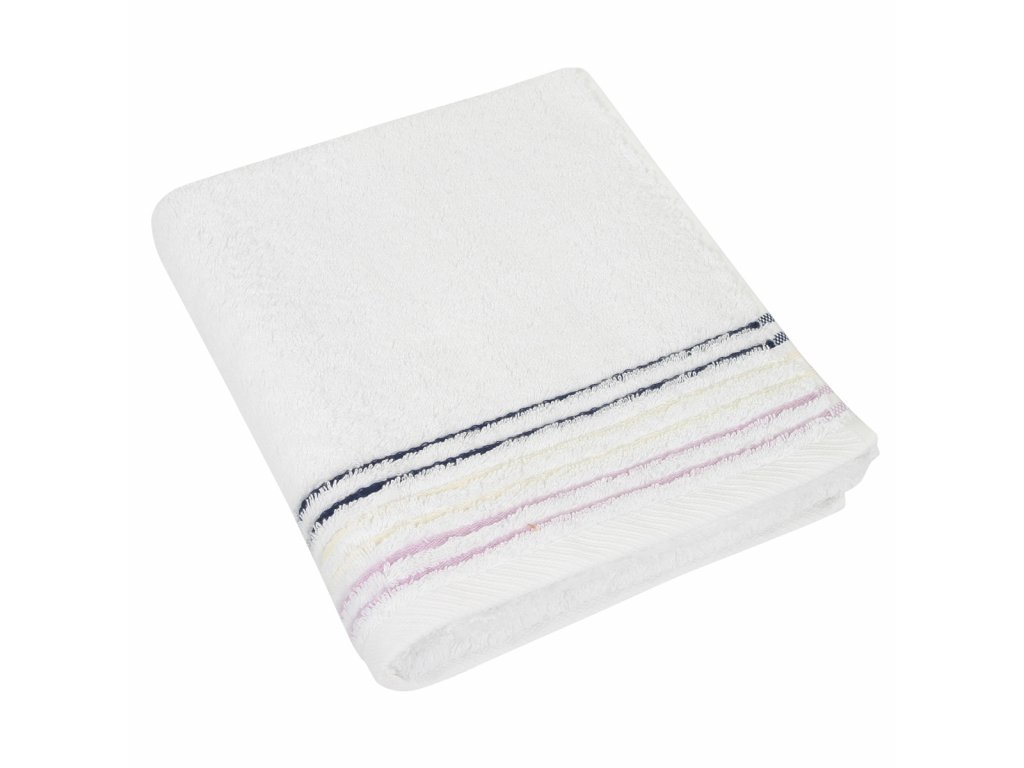 Froté ručníky kolekce fialová 50x100 cm