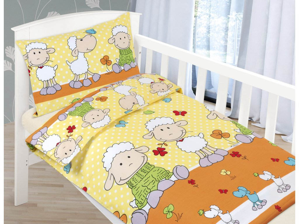 Dětské povlečení bavlna Agáta
