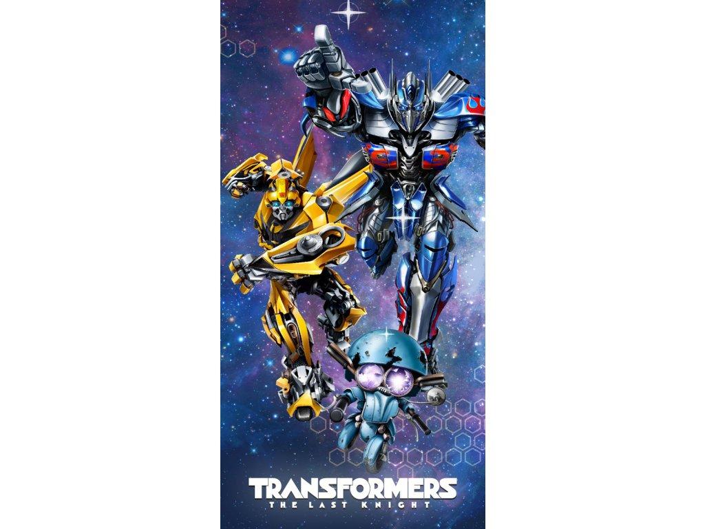 Osuška Transformers 70x140cm