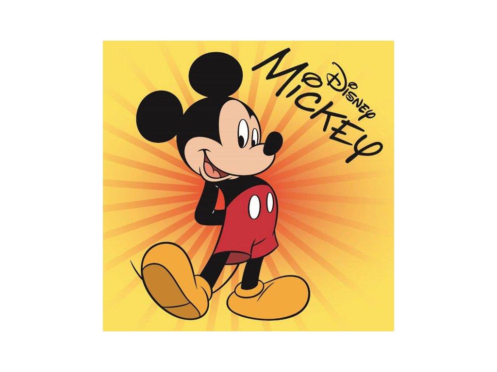Magický ručníček Mickey Star 30x30cm