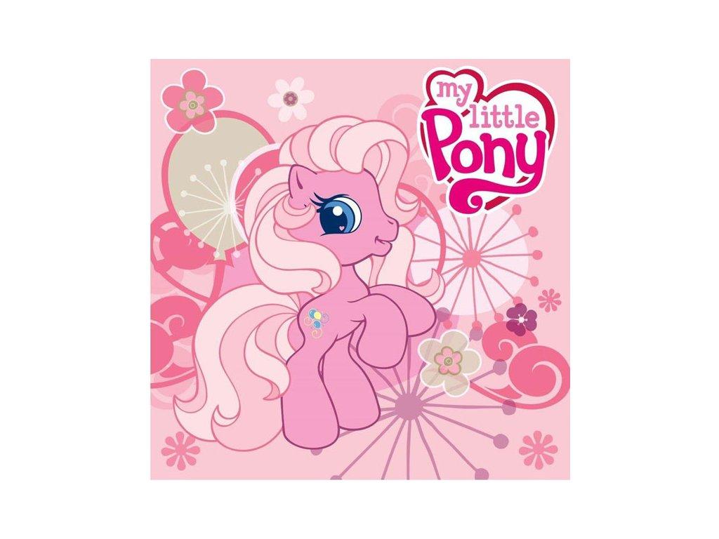 Magický ručníček My Little Pony růžový 30x30cm