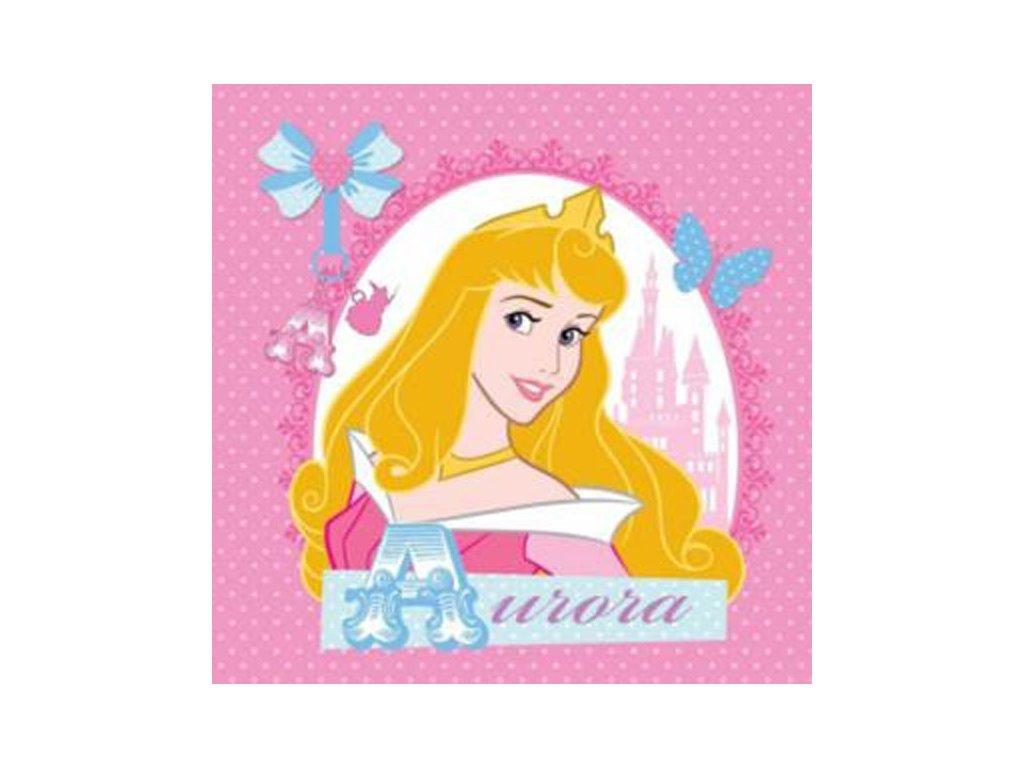 Magický ručníček Princezna Aurora 30x30cm