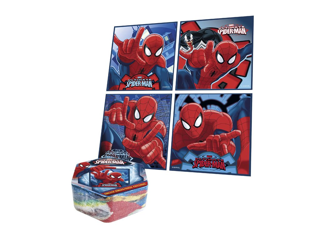 Magický ručníček Spiderman 30x30cm