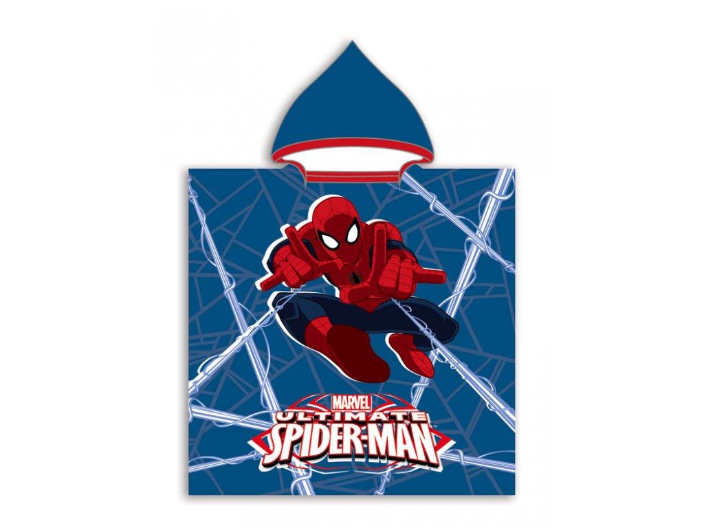 Pončo Spiderman 50x115cm