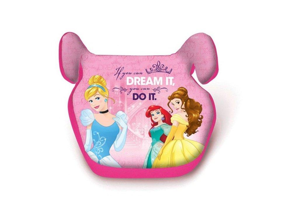 Podsedák do auta Princezny Disney
