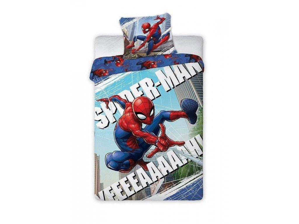 Povlečení Spiderman Pavučina 140/200, 70/90