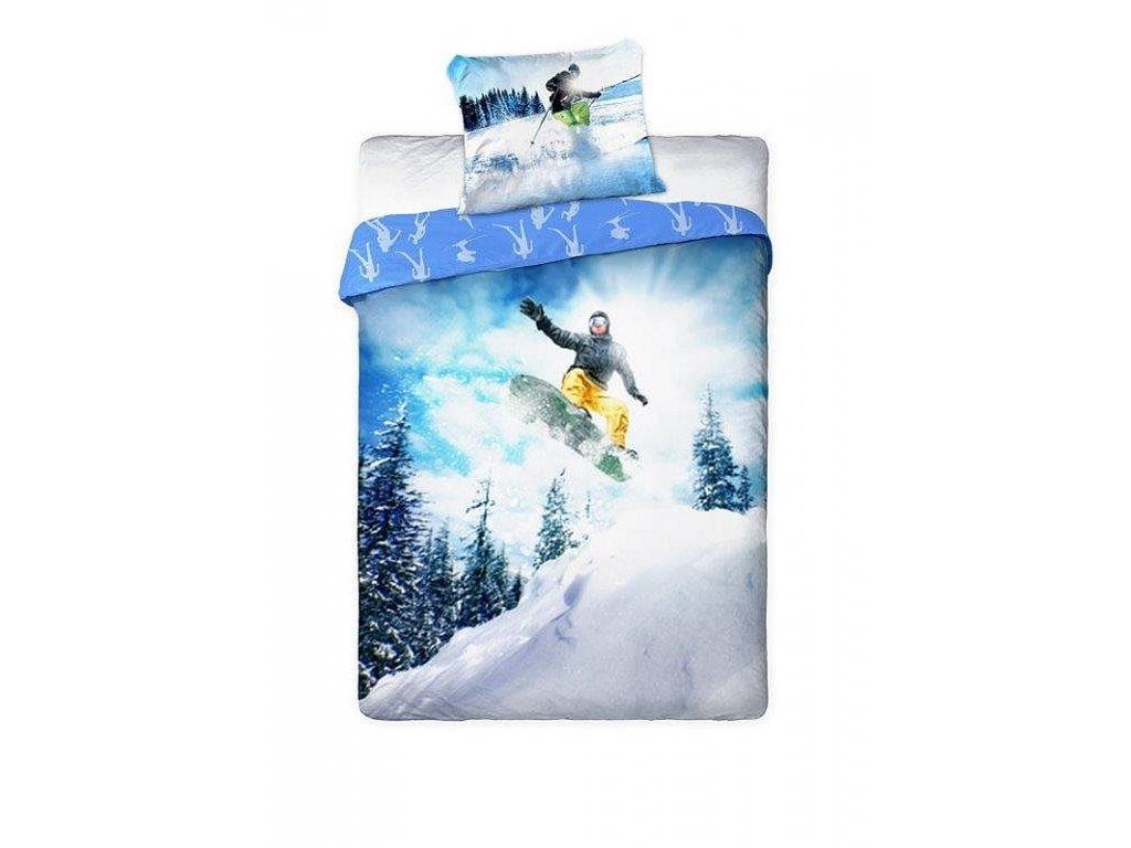 Povlečení Snowboardista 140/200, 70/90