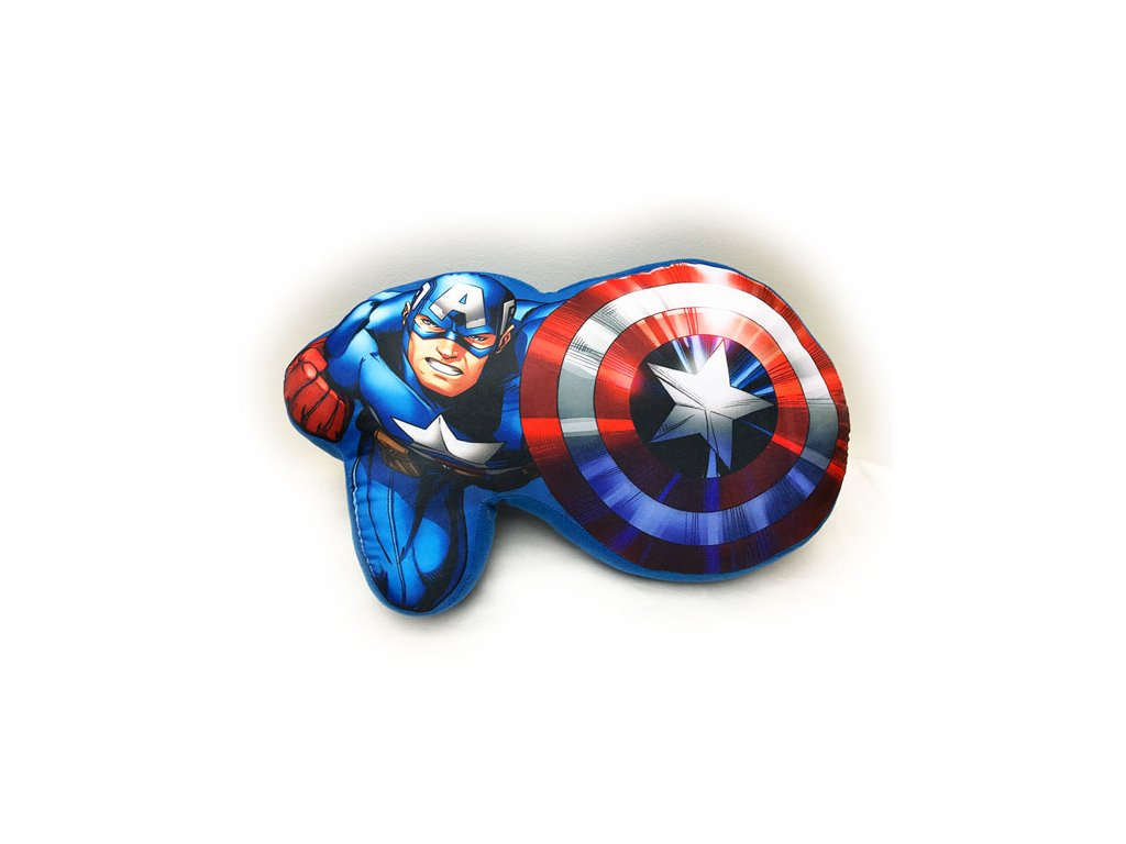 Tvarovaný polštářek Avengers 37 cm
