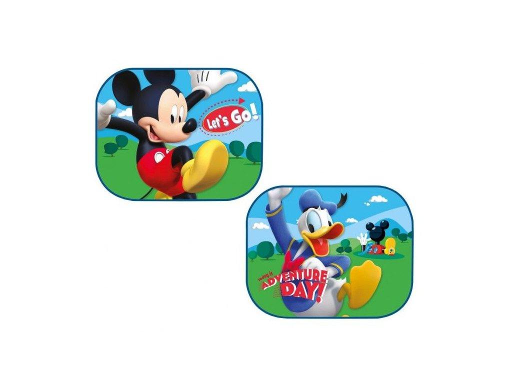 Sluneční clona Mickey a Donald 2 ks