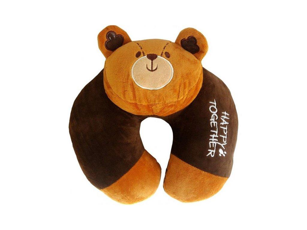 Cestovní polštářek Medvěd