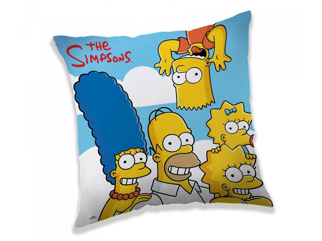 Polštářek Simpsons clouds 40/40