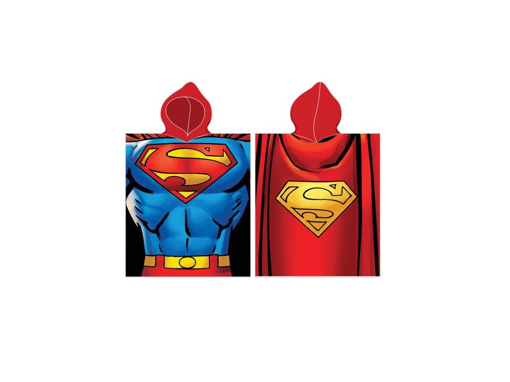Pončo Superman 50x115 cm