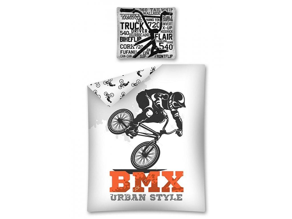 Povlečení BMX  Bavlna, 140x200 cm, 70x80 cm
