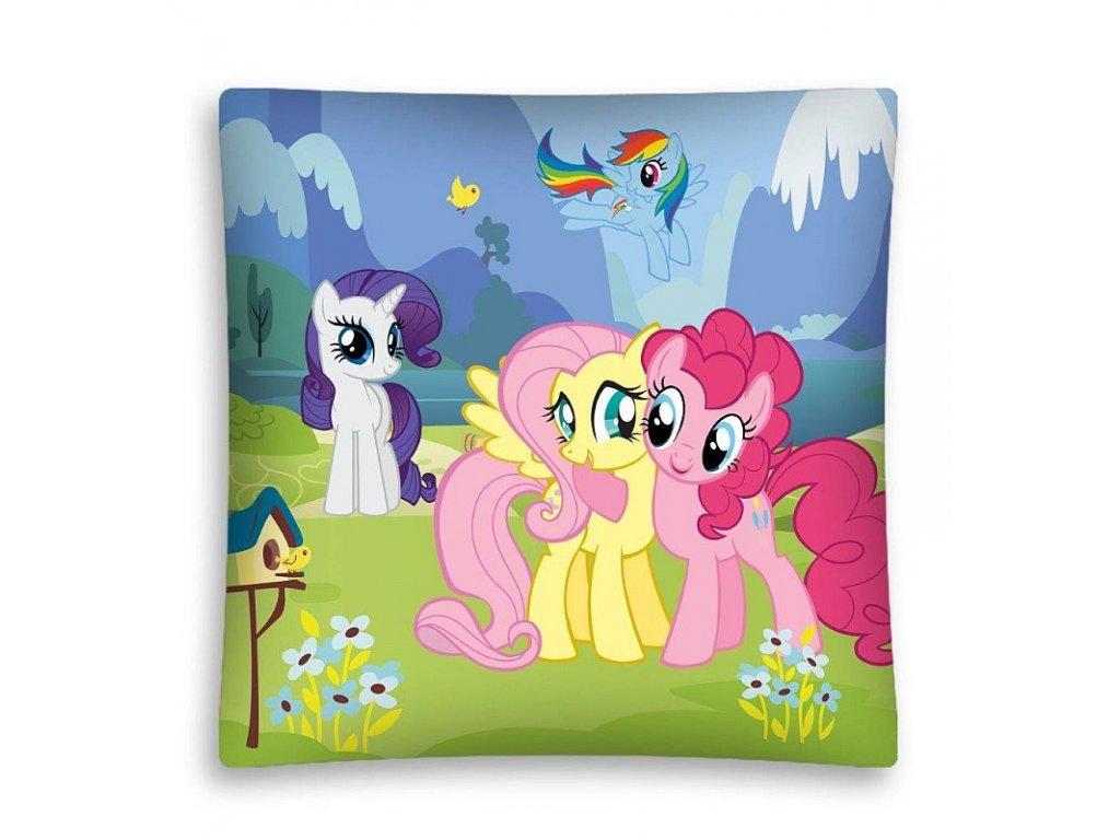 Povlak na polštářek My Little Pony louka micro  Polyester, 40x40 cm