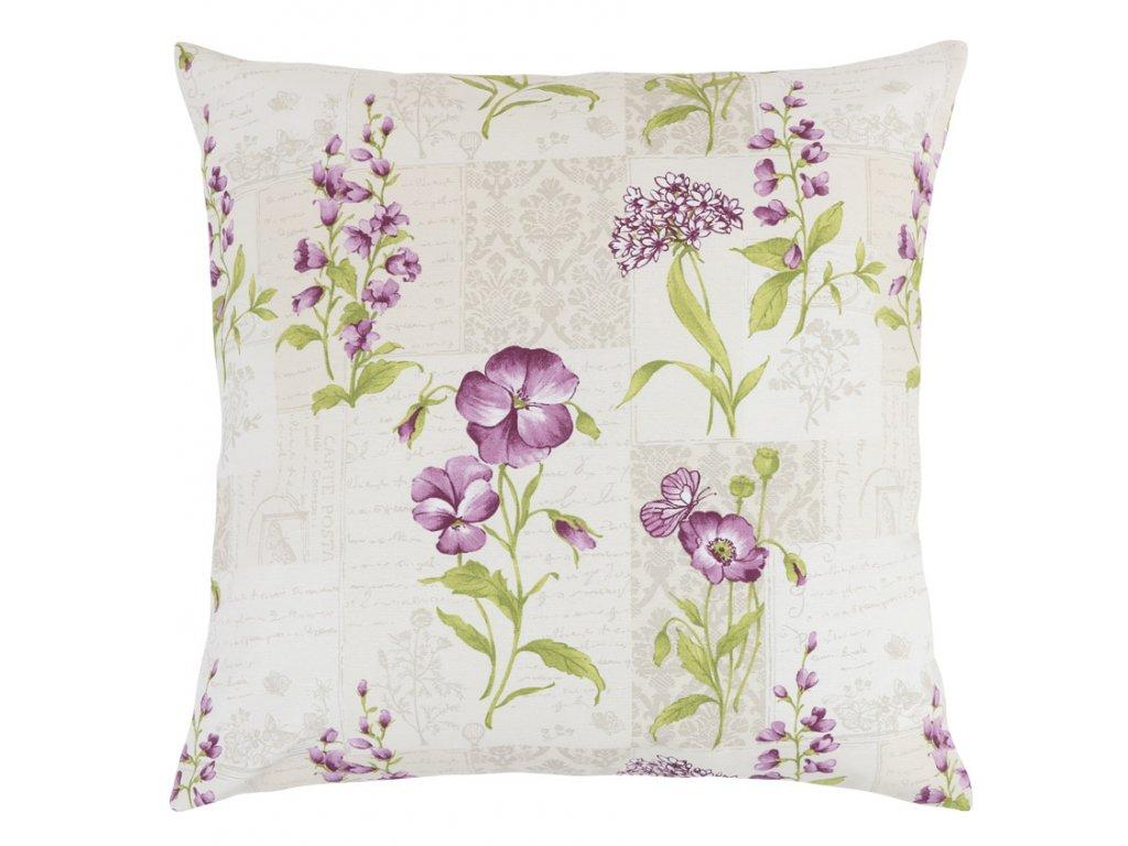 Povláček EMA - fialové květy