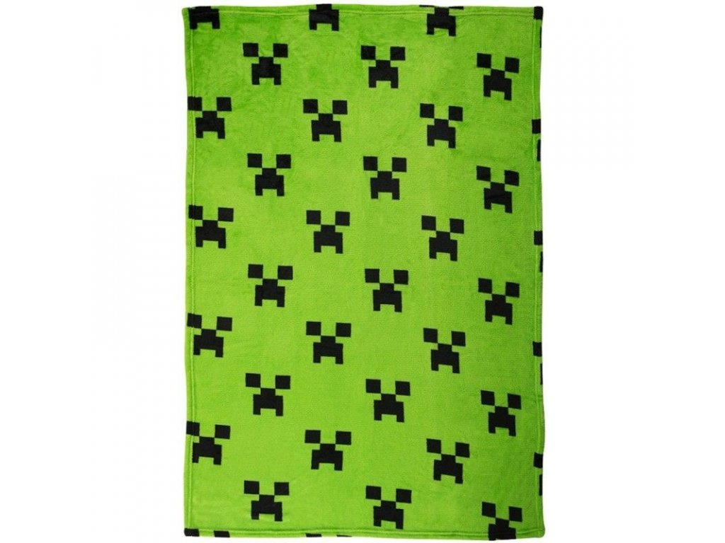 Fleece deka Minecraft 100x150 cm