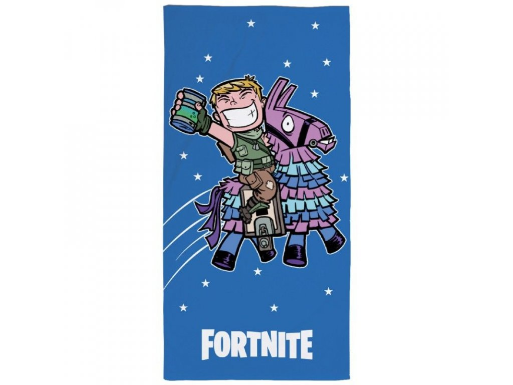 Osuška Fortnite Blue 70x140 cm