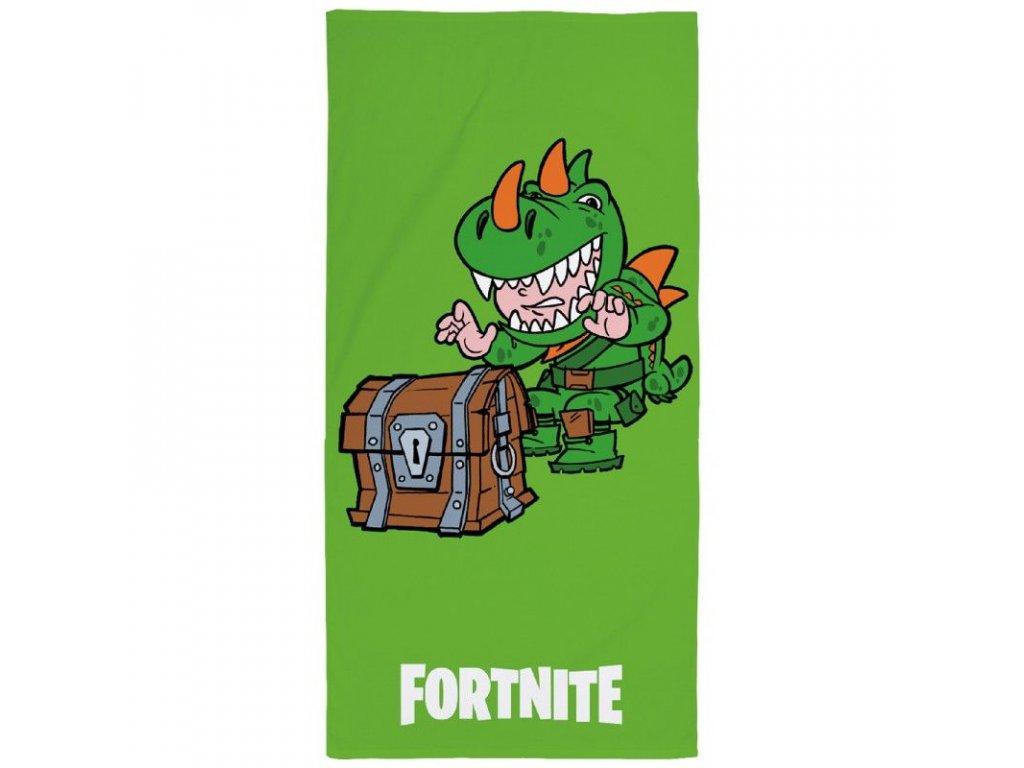 Osuška Fortnite Green 70x140 cm