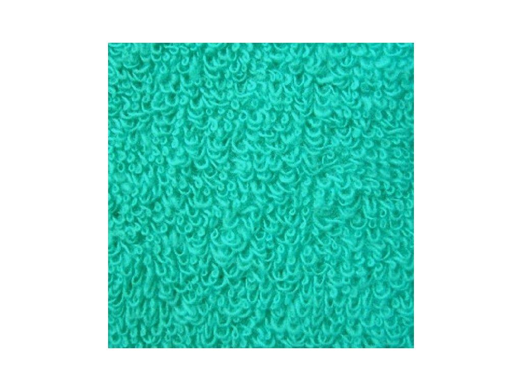 Kvalitní froté prostěradlo - tyrkysová 110x200 cm