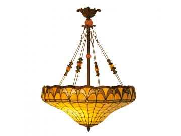 Závěsné svítidlo Tiffany -  Ø 58*77 cm 3x E27 / Max 60W