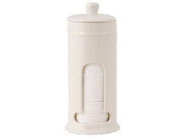 Zásobník na odličovací tampony - pr. 9x21 cm