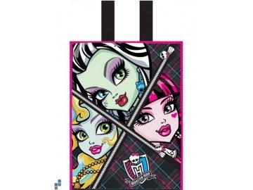 Dětská nákupní taška Monster High Faces 30 cm
