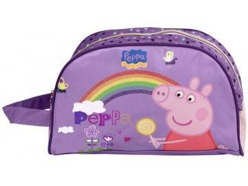 Kosmetická taštička Peppa Pig Duha