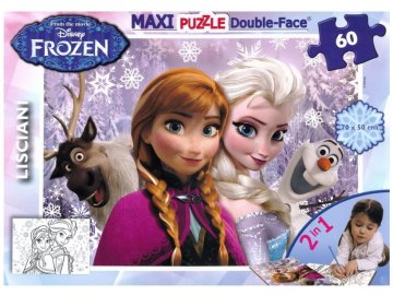 Puzzle Ledové Království Frozen 60 dílků