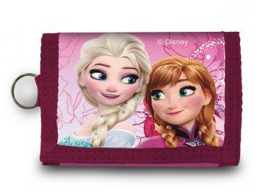 Peněženka Ledové Království Anna a Elsa růžová