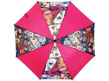 Vystřelovací deštník Monster High Ghoule Rule