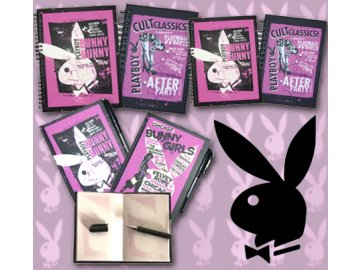 Sada 3 zápisníků Playboy Back and Raspberry