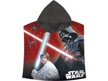Pončo Star Wars Darth Vader a Luke Skywalker 60/120