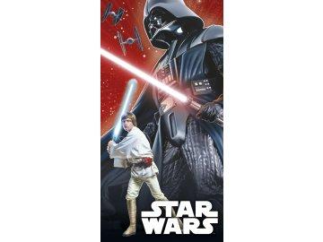 Osuška Star Wars Darth Vader a Luke Skywalker 70/140